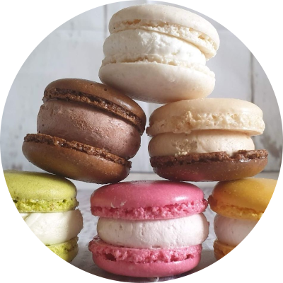 Titel Macarons rounded